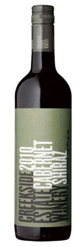 Creekside Estate Winery 2010 Cabernet Shiraz (first vintage of this blend)