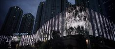 Introducing the world's longest architecturally-integrated media facade - over 1,160 feet long.