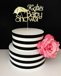Name baby shower cake topper baby shower cake topper