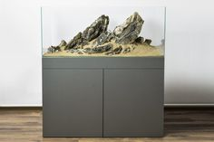 120x60x50 Iwagumi Ancient Stone I love the stand