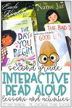 First Grade Reading Books, Second Grade Books, First Grade Lessons, Teaching Second Grade, Library Lessons, Reading Lessons, Library Activities, Reading Activities, Classroom Whiteboard