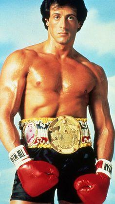"Sylvester Stallone as Rocky Balboa ""The Italian Stallion"""