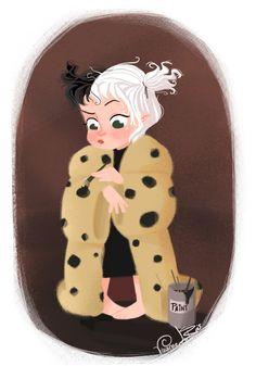 Little Villains - cruella