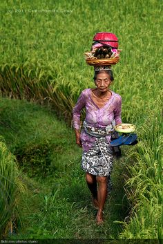Balinese Villager by Christopher Chan, via Flickr
