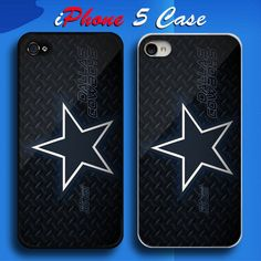 Metal NFL Dallas Cowboys NFL Team Logo Custom iPhone 5 Case Cover