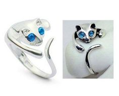 'Adjustable Cat Ring'