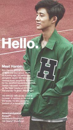 """ Meet iKON's Kim Hanbin! """