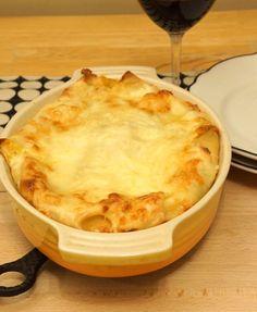 Squash & Radicchio Lasagna with Fontina