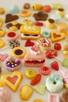 #sweetsdeco #clay #miniature #dessert #lesurf #スイーツデコ https://www.etsy.com/jp/shop/lesurfdesign