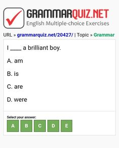 English Grammar Quiz, English Grammar Exercises, English Quiz, English Course, Learn English, English Language, Multiple Choice, Ielts, Boys
