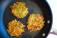 Kelly Senyei Sneak veggies into any meal with Quick and Crispy Vegetable Fritters that come together in minutes and pair perfectly with a cool dollop of sour c Vegetable Recipes, Vegetarian Recipes, Healthy Recipes, Tasty Meals, Veggie Side Dishes, Vegetable Dishes, New Recipes, Cooking Recipes, Favorite Recipes
