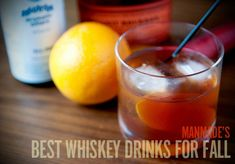 The 6 Best Whiskey Cocktails for Fall