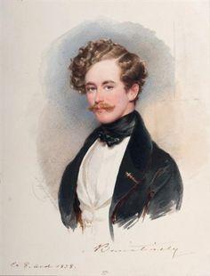 Fürst Alexander Ivanovich Bariatinsky, Prince Alexandre Ivanovich Bariatinsky by Moritz Michael Daffinger