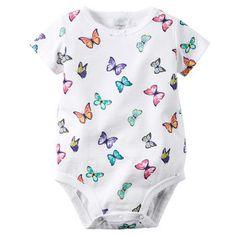 Butterfly Print Bodysuit