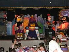The dancing/singing puppets at Chuckie Cheese creeped me out.