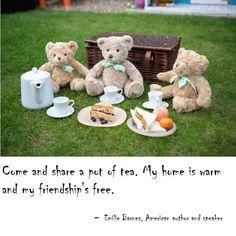 #TeddyBearsTeaParty