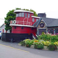 Tugboat Inn, Boothbay Harbor, Maine  The most relaxing vacation ever. Drove from Boston thru Bar Harbor.