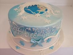 Frozen cake with message (2422) | www.asweetdesign.info 818-… | Flickr