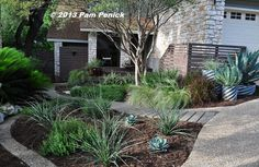 Visit the water-saving, no-lawn garden of Cyndi Kohfield with me -- lots of great ideas here! | Digging