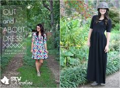 The Out and About Dress | Sewing Patterns | SewCaroline