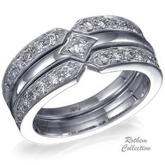 wedding rings pictures engagement wedding ring combo
