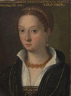 Emilia Cauzzi Gonzaga (1524-1573) natural daughter of Federico II Gonzaga , V Marquess of Mantua and his lover Isabella Boschetti . [1] Some scholars attribute its authorship to Cauzzi Francesco Gonzaga, husband of Isabella.