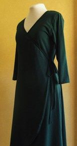 Australian made cotton jersey wrap dress. Super flattering, this dress is made from quality Australian made fabric