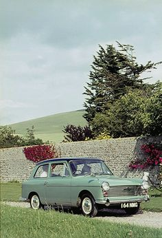 1960s Austin A40 Mk II Farina, Unknown Location, probably England, early 1960s