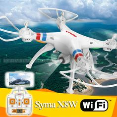 Wifi Drone Syma 2.4G X8W RC Quadcopter With 2 MP Camera Explorers WiFi FPV Drone With Headless Mode And One Key Return