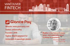 Introducing Glance Pay, the mobile app that wants to ensure you never have to wait to pay the bill again. Mobile App, Things To Come, Technology, Blog, Tech, Mobile Applications, Tecnologia, Blogging