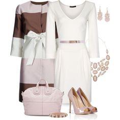 White Dress, created by yasminasdream on Polyvore