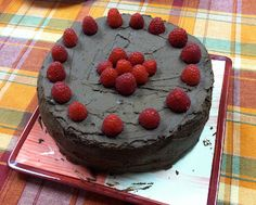 Gluten Free Chocolate Raspberry Cake