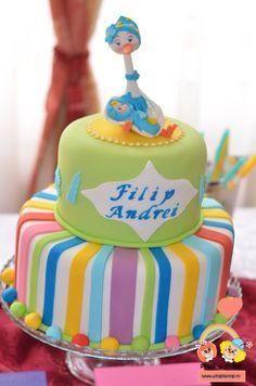 cofetarie-alba-iulia-laura-maria-tort-barza Baby Boy, Birthday Cake, Candy, Desserts, Bar, Food, Tailgate Desserts, Deserts, Birthday Cakes