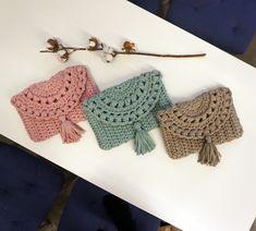Crochet Wallet, Crochet Case, Crochet Clutch, Quick Crochet, Crochet Handbags, Crochet Purses, Crochet Gifts, Diy Crochet, Crochet Bag Tutorials
