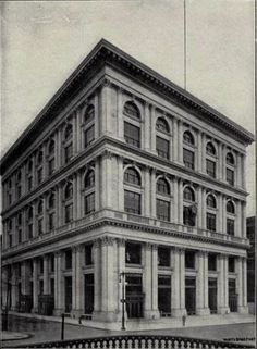 The Tiffany Building in 1905 -- NYPL Collection    Young Charles Tiffany opened his first tiny store opposite City Hall in 1837, in the mi...