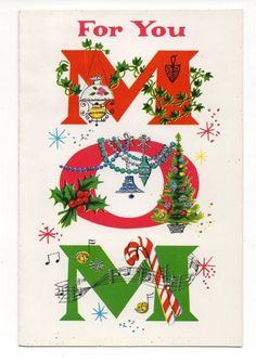 231 best cardschristmas greetings images on pinterest in 2018 vintage norcross christmas greeting card mom m4hsunfo