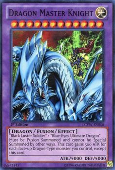 Yu-Gi-Oh! - Dragon Master Knight (LCYW-EN050) - Legendary Collection 3: Yugi`s World - Limited Edition - Super Rare (bestseller)