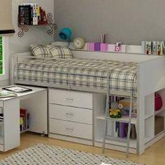 Кровать подиум. 33 идеи в фото