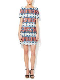 Enoa Printed Shift Dress by Paul & Joe Sister at Gilt
