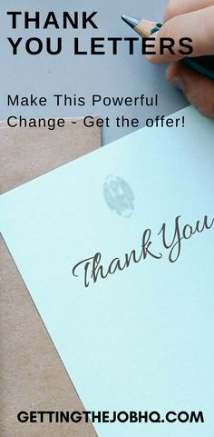 Do you need to write a thank you letter after an interview? Make this powerful change. - Getting the job HQ Letter After Interview, Interview Answers, Interview Questions, Helping Others, Helping People, Presentation Video, Thank You Letter, Best Resume Template, Resume Tips