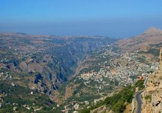 Lebanon geography