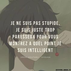 Hyouka, Bad Mood, Motivation, Just Me, Manga Anime, Messages, Words, Quotes, Nice