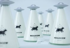 Le lait soucoupe volante