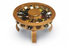 A coffee table that showcases our wines? Yes please!