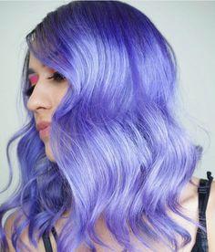 Flawless Summer Hair Color Trends for Women 2019 Flawless Summer Hair Color Trends for Women … Periwinkle Hair, Blue Hair, Lilac, Neon Hair Color, Pelo Color Azul, Pulp Riot Hair Color, Hair Color Formulas, Luscious Hair, Mid Length Hair