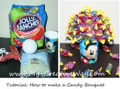 kids candy bouquets | get 2 -3 emails per week requesting this tutorial, so I hope you ...