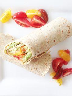 skinny fork veggie wrap