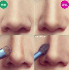 Nose countour