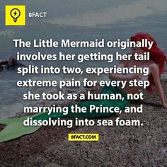 It was written by Hans Christian Anderson, and it was to symbolize that it was as hard for him to be with his lover (an engaged man) as it was for a mermaid to come on land to be with the one she loved.