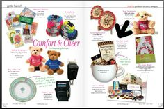 """So proud & excited to have our mugs chosen by Gift Shop Magazine as a """"gotta have"""" for Hospital Gift Shops!    http://www.anextraboostof.com/product/soup-mugs/"""
